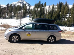 Park City Airport Shuttle Van shuttle in Park City utah